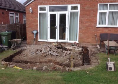 Conservatory Build - 3